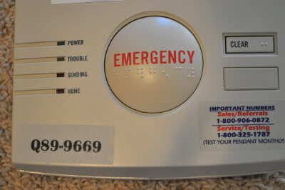 medical alert emergency button